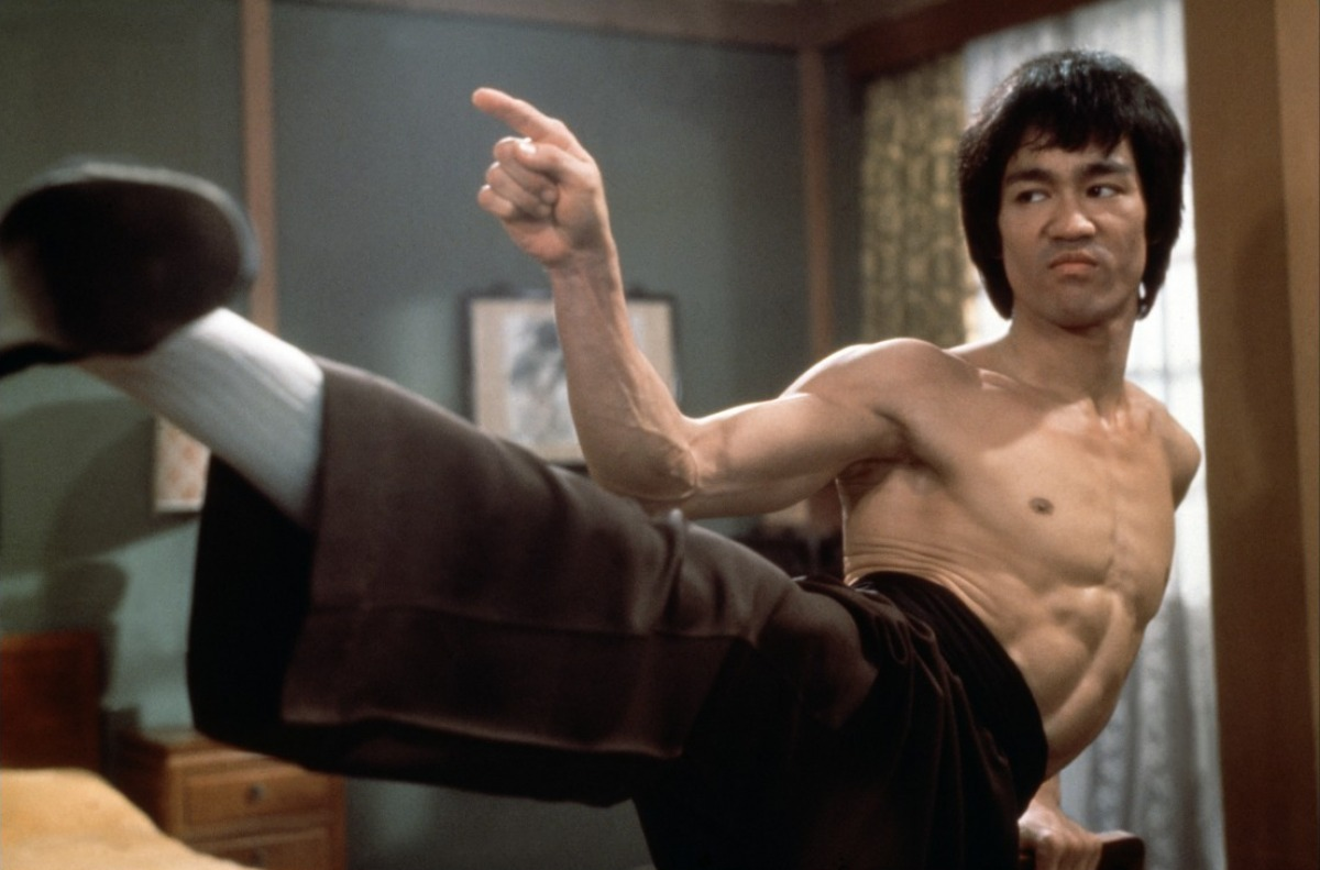 bruce lee best kick