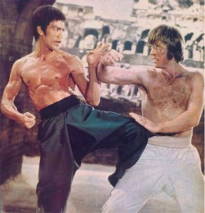 Bruce Lee Vs Chuck Norris in Way of the Dragon