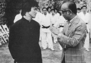 Bruce Lee and Raymond Chow