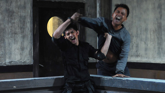Iko Uwais in the Raid