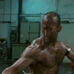 Jason Statham in The Transporter 'Oil' Fight Scene