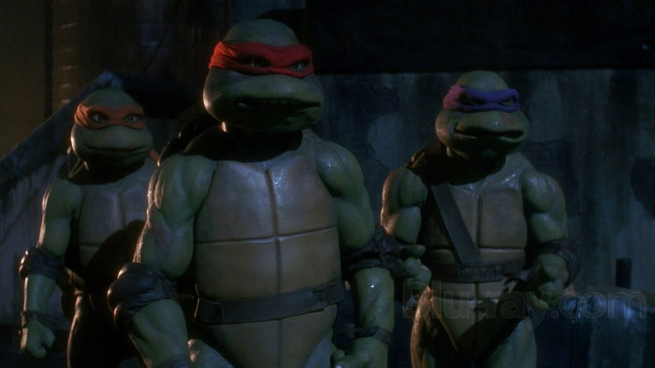 Teenage Mutant Ninja Turtles 1990 Martial Arts Action