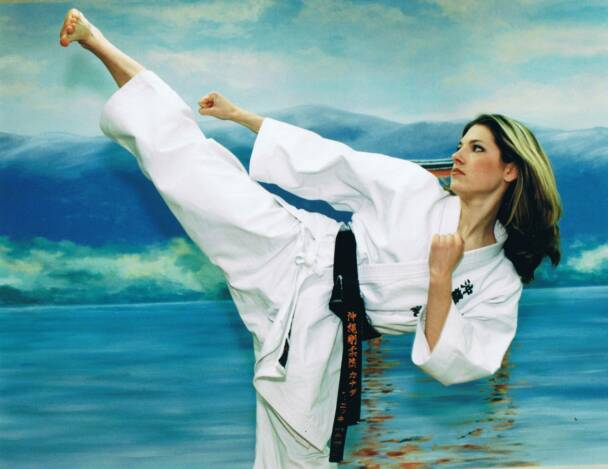 Katheryn Winnick karate
